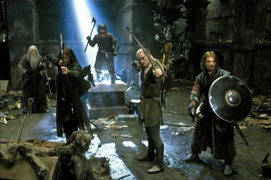 Kadr z filmu 'Władca pierścieni'