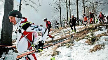 Mosorny Groń, Zawody o Puchar Polsar Sportu w Narciarstwie Turowym, fot. Adam Golec / Agencja Gazeta