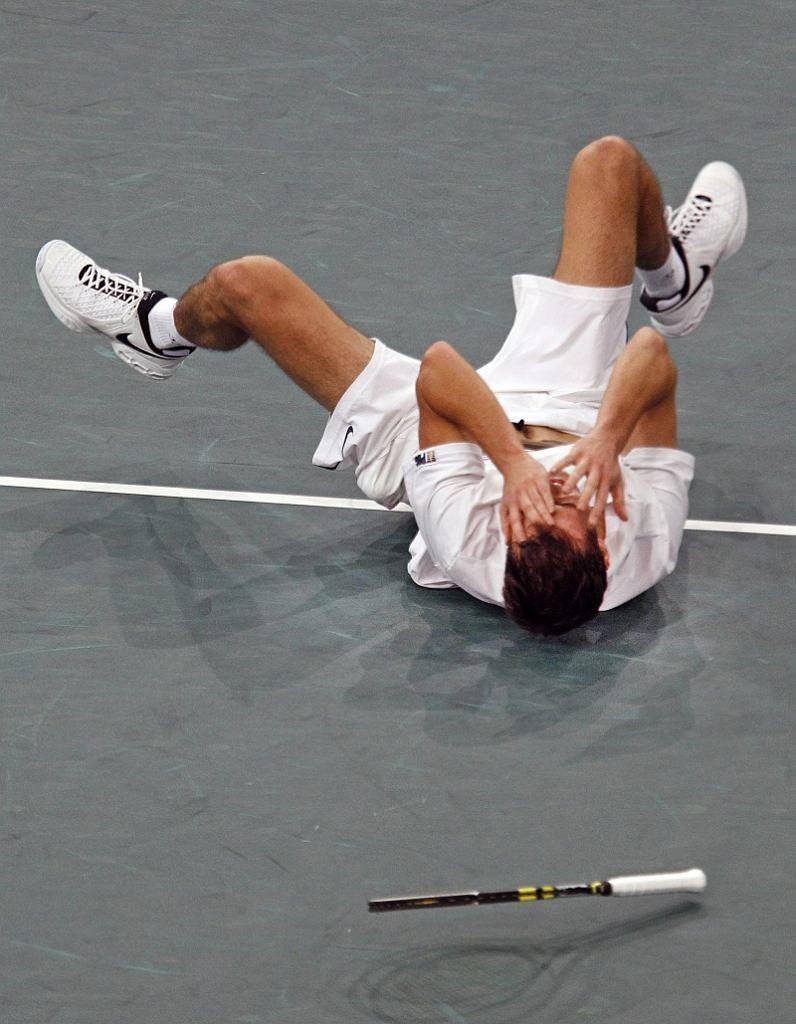Jerzy Janowicz po wygranej nad Andym Murrayem