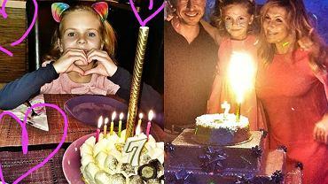 urodziny córki Katarzyny Skrzyneckiej