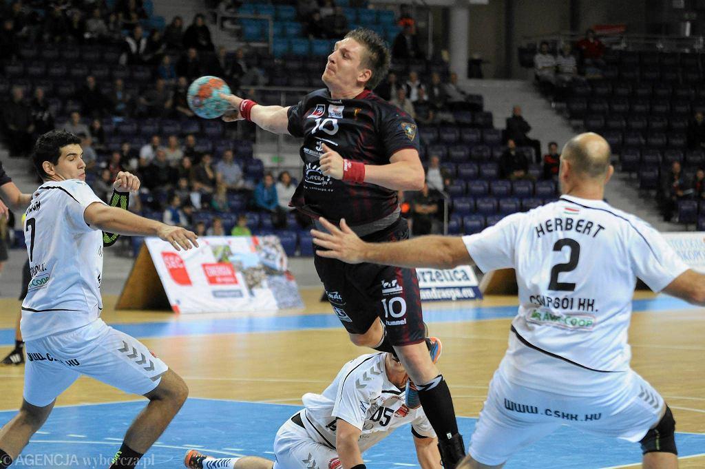 Łukasz Gierak grał w Pogoni Handball Szczecin przez 3,5 roku