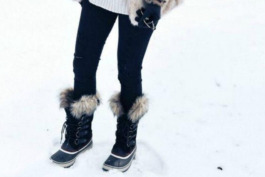 śniegowce z futerkiem to idealne obuwie na największe mrozy!