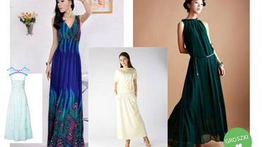 długie sukienki w stylu boho