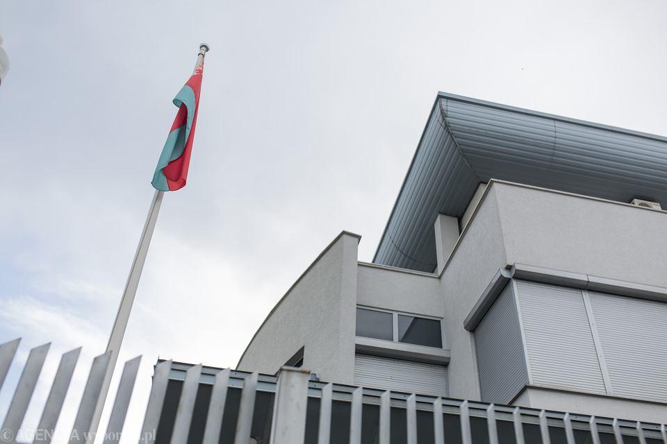 Ambasada Białorusi w Warszawie.