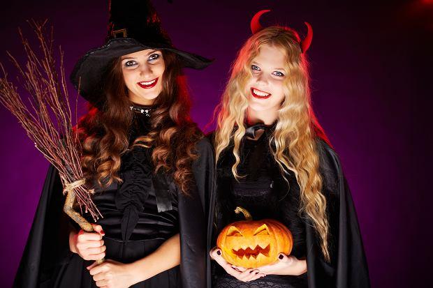 Przebranie na Halloween dla kobiet. Zdjęcie ilustracyjne