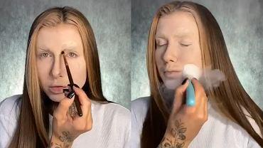 Deynn wykonała imponujący makijaż na Halloween. Fani pod wrażeniem: 'Co za talent!'
