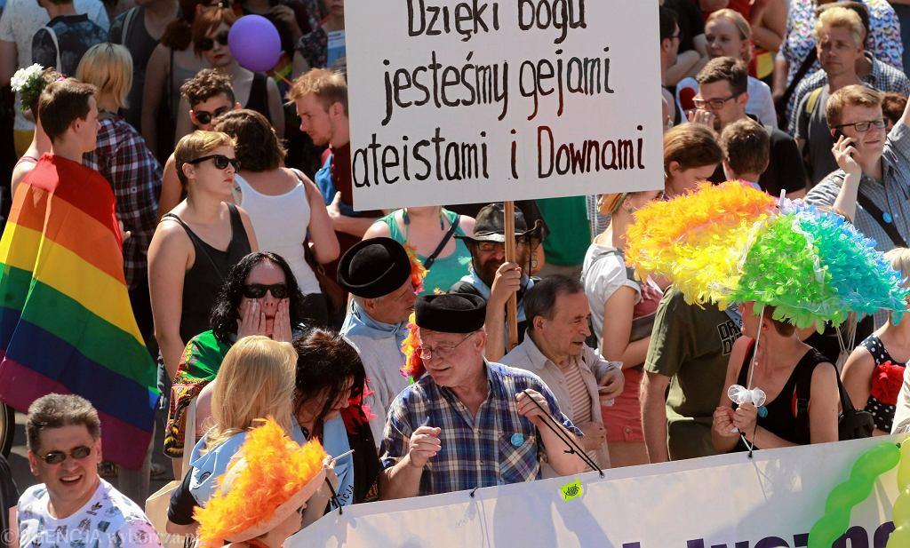 Parada Rownosci w Warszawie
