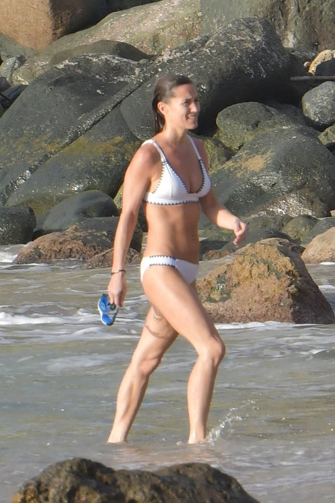 Pippa Middleton w bikini