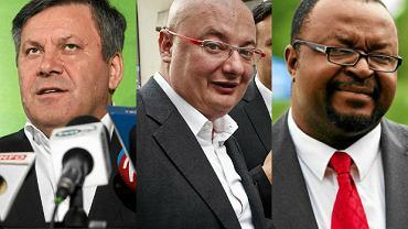 Janusz Piechociński, Michał Kamiński, John Godson
