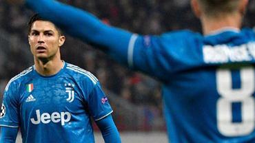 Cristiano Ronaldo po bramce Ramseya