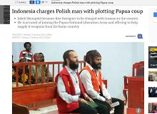 Polak oskarżony o zdradę. Za wspieranie separatystów z Papui Zachodniej