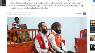 39-letni Polak Jakub Skrzypski został oskarżony przez władze Indonezji o zdradę