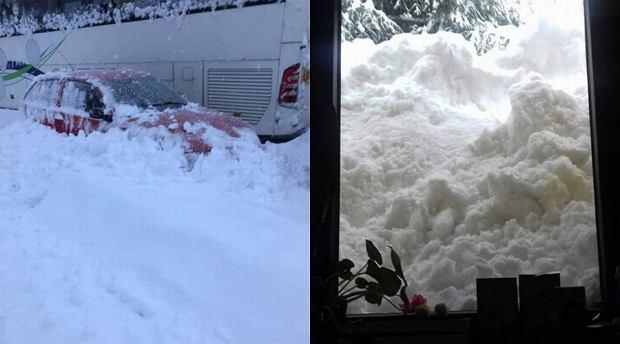 Atak zimy w Polsce. Niektóre miejscowości są kompletnie zasypane i odcięte od świata [ZDJĘCIA]