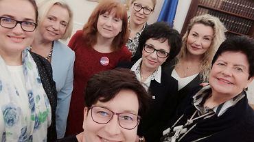 Spotkanie posłanek Lewicy z marszałek Sejmu Elżbietą Witek