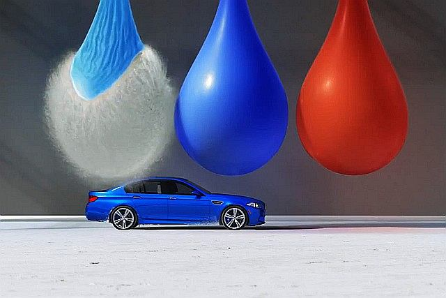 Nowa reklama BMW M5
