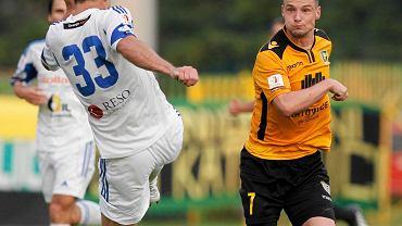 Katowice. GKS - Wigry Suwałki 0:1. Grzegorz Goncerz