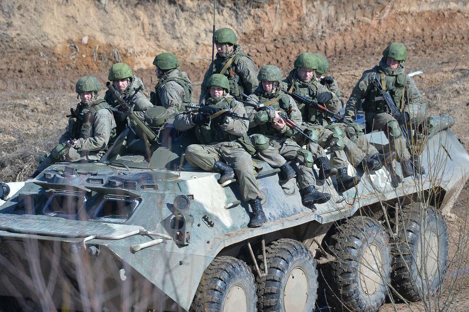 Ćwiczenia wojskowe armii rosyjskiej i białoruskiej, marzec 2021 r.