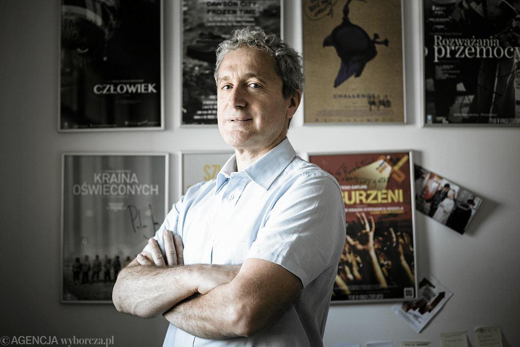 Dyrektor Festiwalu Filmowego Millennium Docs Against Gravity Artur Liebhart