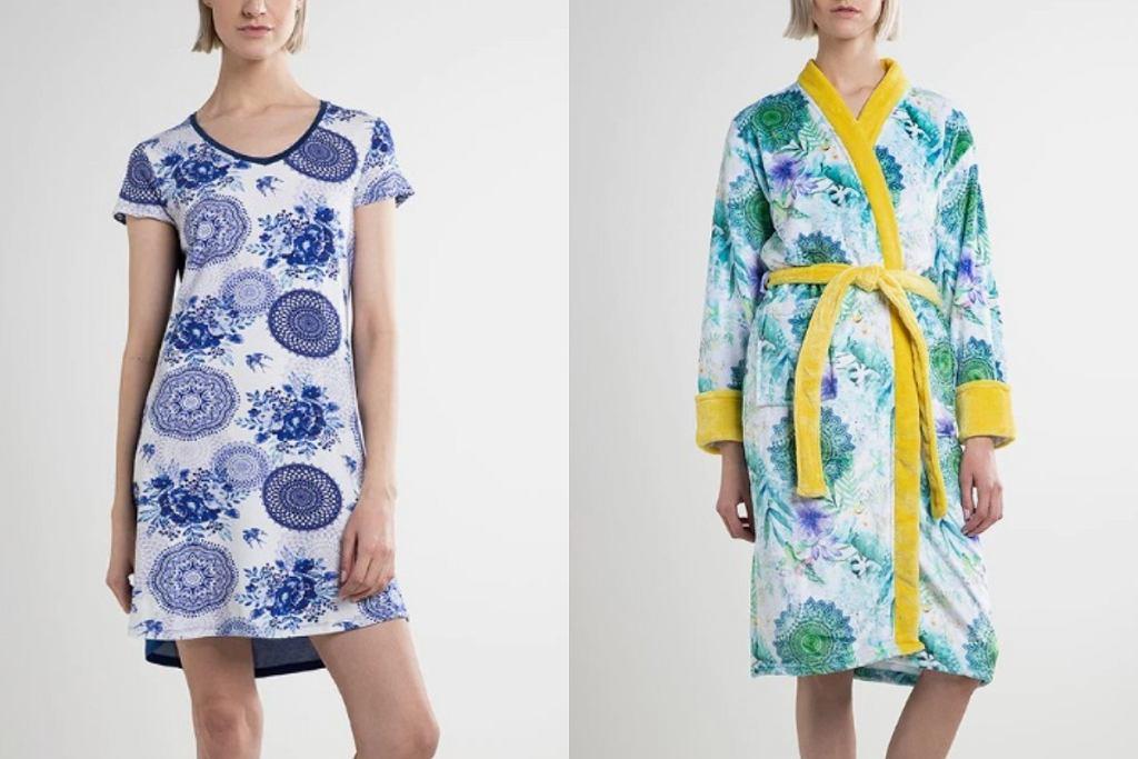 Szlafroki i piżamy