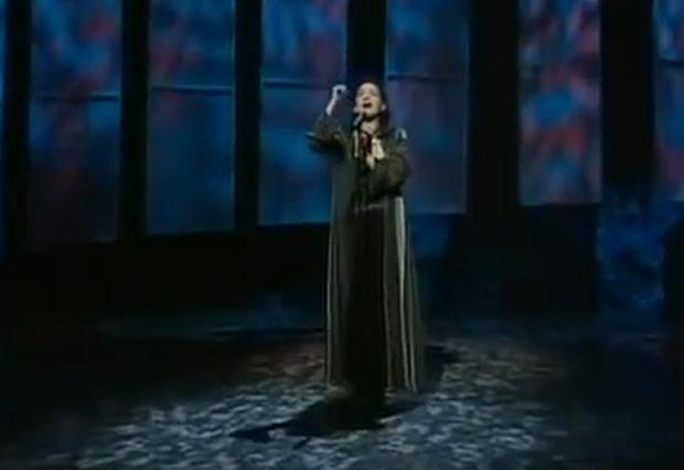 Justyna Steczkowska na Eurowizji w 1995
