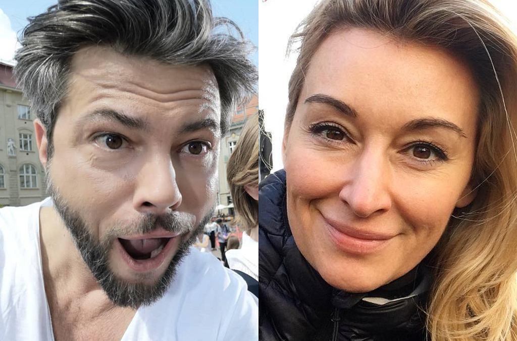 Olivier Janiak i Martyna Wojciechowska
