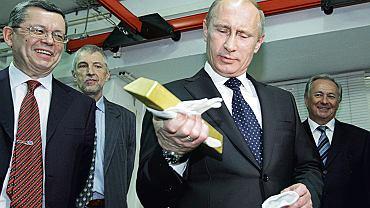 Władimir Putin z wizytą w centralnym depozycie rosyjskiego banku centralnego