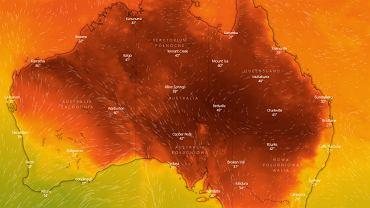 Australia. Fala upałów