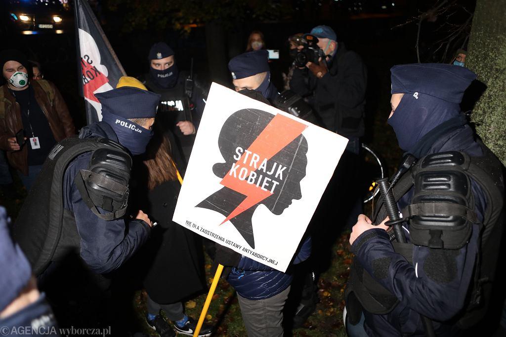 Strajk Kobiet (zdjęcie ilustracyjne).