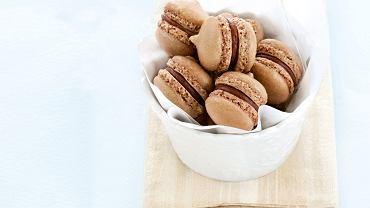 Latte macarons z marakują