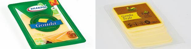 Gouda tradycyjna vs gouda wegańska