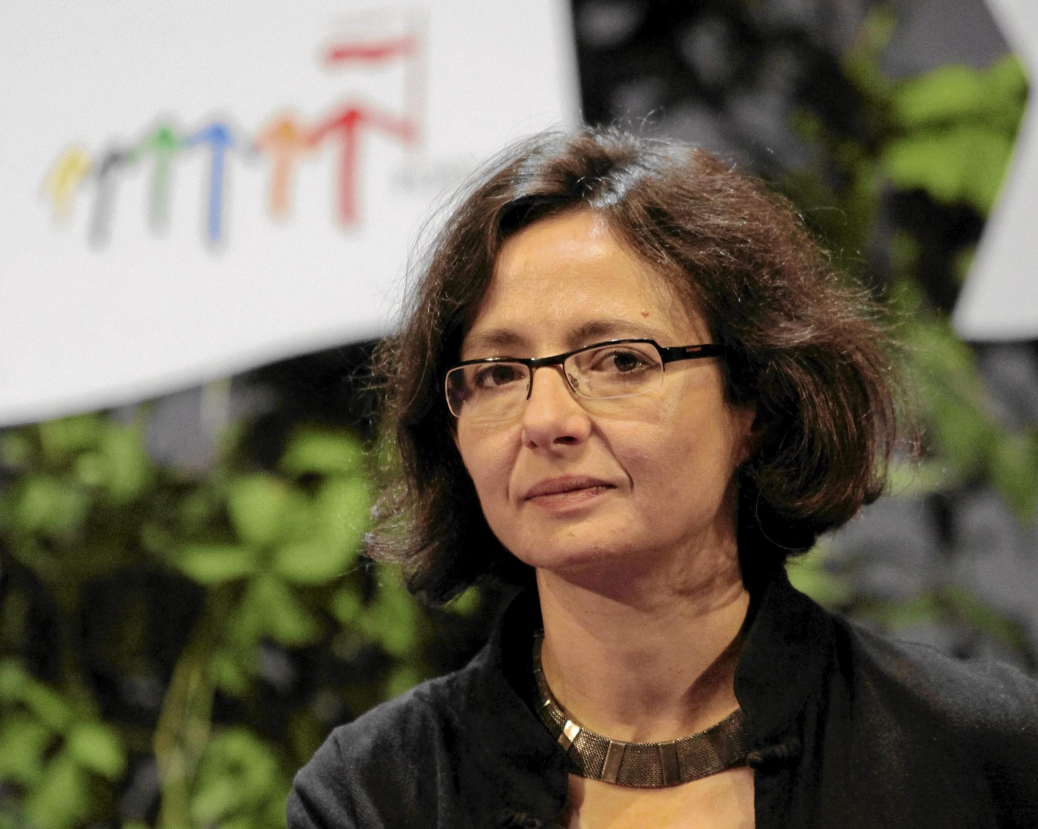 Agnieszka Graff, III Kongres Kobiet, 2011 (fot. Franciszek Mazur/Agencja Gazeta)
