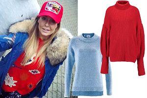 bed18fd77b1e4f Kolorowe swetry na chłodne dni. Zobaczcie, jakie wybiera Małgorzata  Rozenek! Mamy podobne już od 40 zł