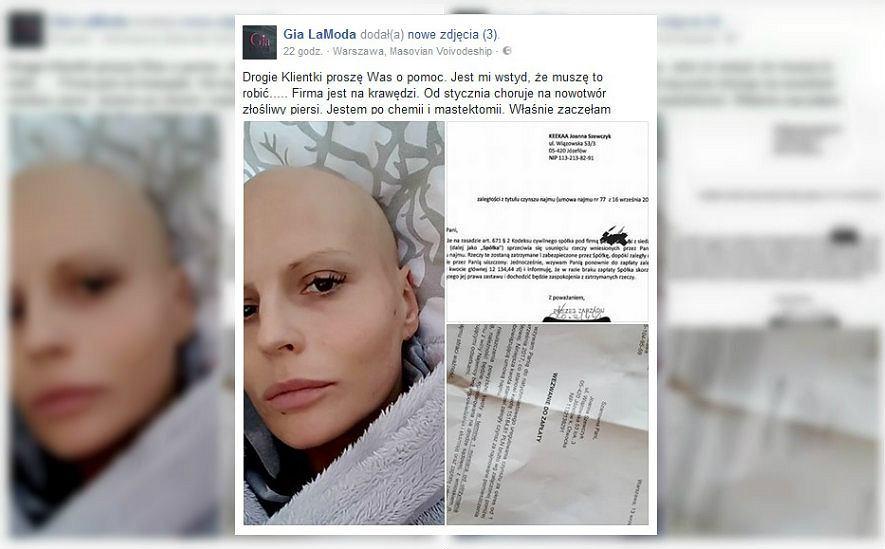 Joanna walczy z chorobą i o swoją pracę