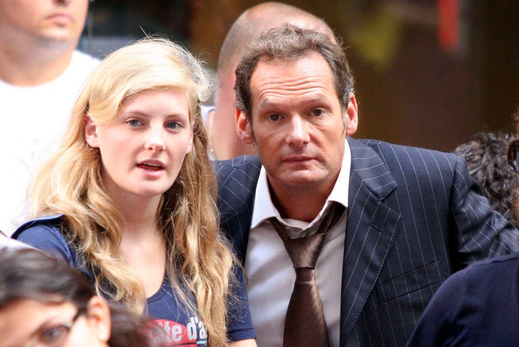 Marc Lester z córką, Harriet.