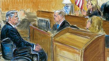 Paul Manafort przed sądem