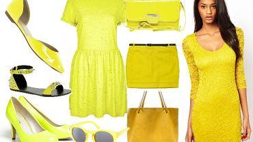 fokus na żółty