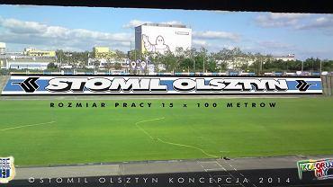 Projekt zgłoszony przez kibiców Stomilu Olsztyn