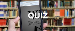 12 pytań na podstawie wylosowanych stron z Wikipedii. Ten quiz to istne szaleństwo!