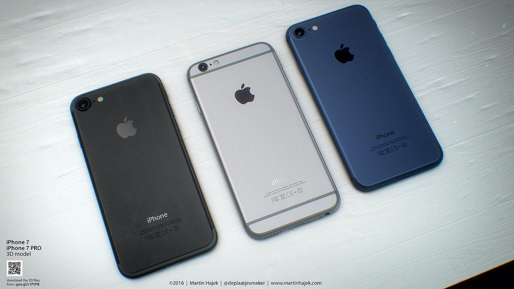 Wizualizacja iPhone'a 7