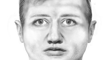 Policjanci opublikowali portret pamięciowy sprawcy i proszą o kontakt wszystkich, którzy mają jakiekolwiek informacje mogące przyczynić się do ustalenia sprawców przestępstwa