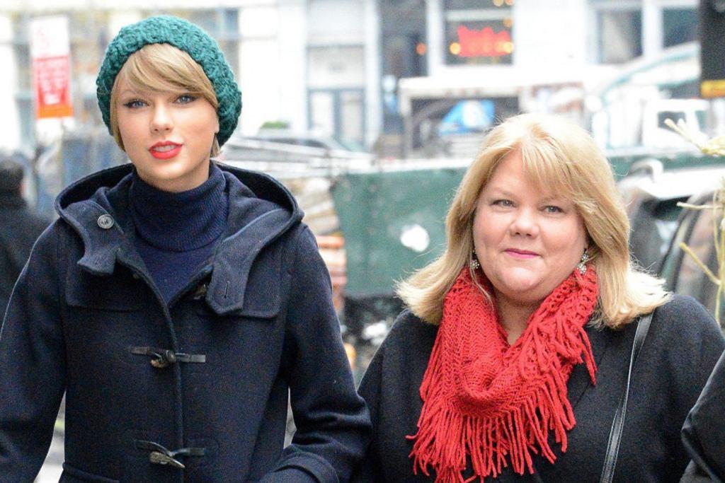 Taylor Swifit i jej mama Andrea Swift
