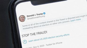 Donald Trump od początku podważał wyniki wyborów