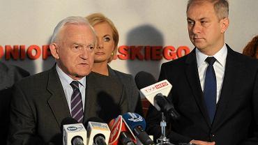 Leszek Miller i Grzegorz Napieralski. Zdjęcie z maja 2014