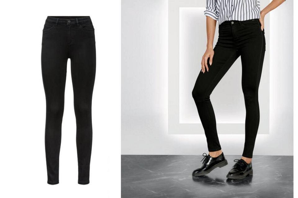Czarne jeansy Lidl