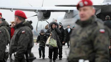 178 uchodźców polskiego pochodzenia z Ukrainy przyleciało do Polski w połowie stycznia