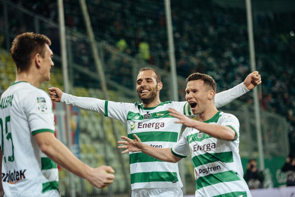 Lechia Gdańsk - Piast Gliwice 2:0. Flavio Paixao i Michał Mak