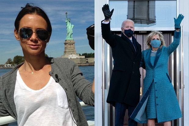 Kinga Rusin postanowiła skomentować stylizację pierwszej damy, którą miała sobie na zaprzysiężeniu 46. prezydenta Stanów Zjednoczonych. Przy okazji wbiła szpilę samej Melanii Trump.