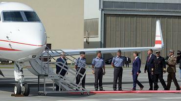 Jeden z nowych polskich samolotów VIP - Gulfstream G550