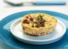 Omlet ziołowy z pieczarkami - ugotuj