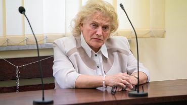 Anna Jaśkowska w sądzie